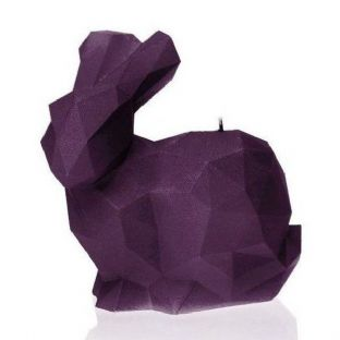 Candellana - Big Rabbit Candle - Violet